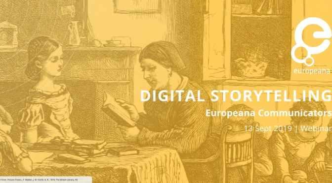 Solve-It-Session on Digital Storytelling by Europeana Communicators
