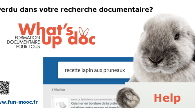 MOOC What's up Doc – Formation documentaire pour tous