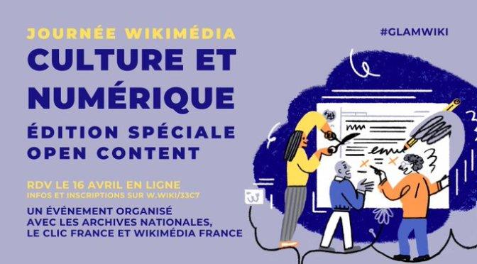 Wikimédia Culture et Numérique 2021