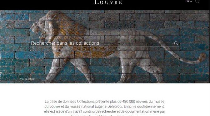 Les collections du Louvre en ligne