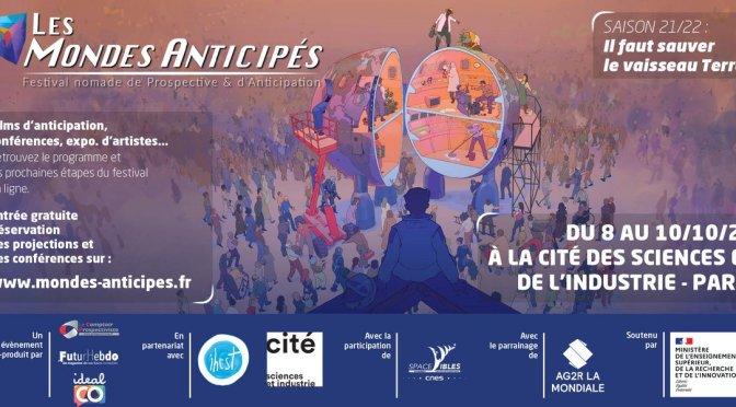 Festival nomade de Prospective & d'Anticipation Les Mondes Anticipés